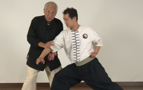 Adam Hsu demonstrates Baji